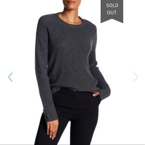 A.L.C- Small Gray Peter Wool Blend Sweater